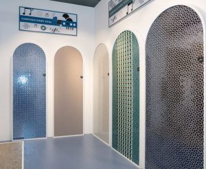 Ejemplos de la aplicación como mosaico decorativo de la Serie Soul