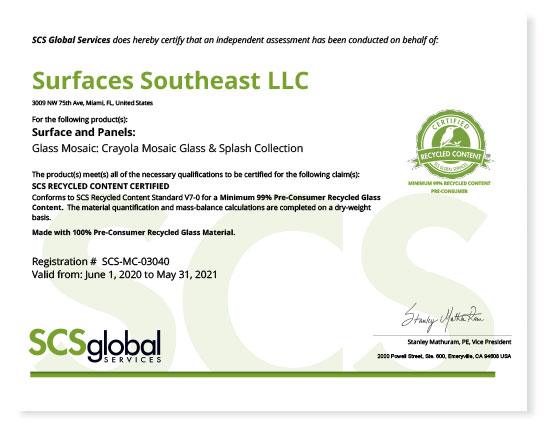 Scs Southeast 2020 - Medio Ambiente