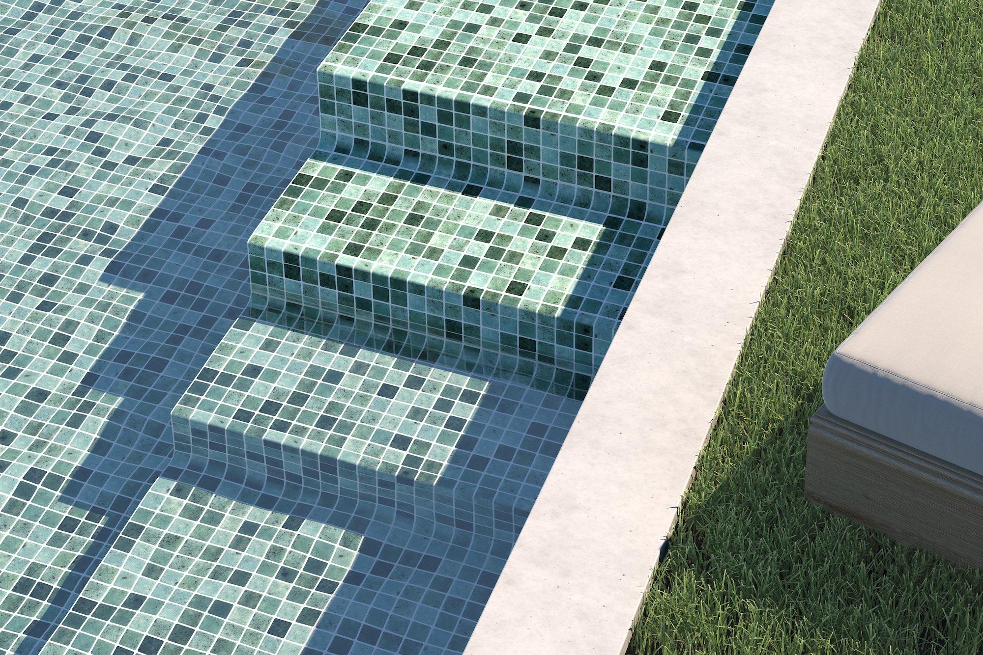 Ventajas Del Mosaico Para Piscina - Decoración