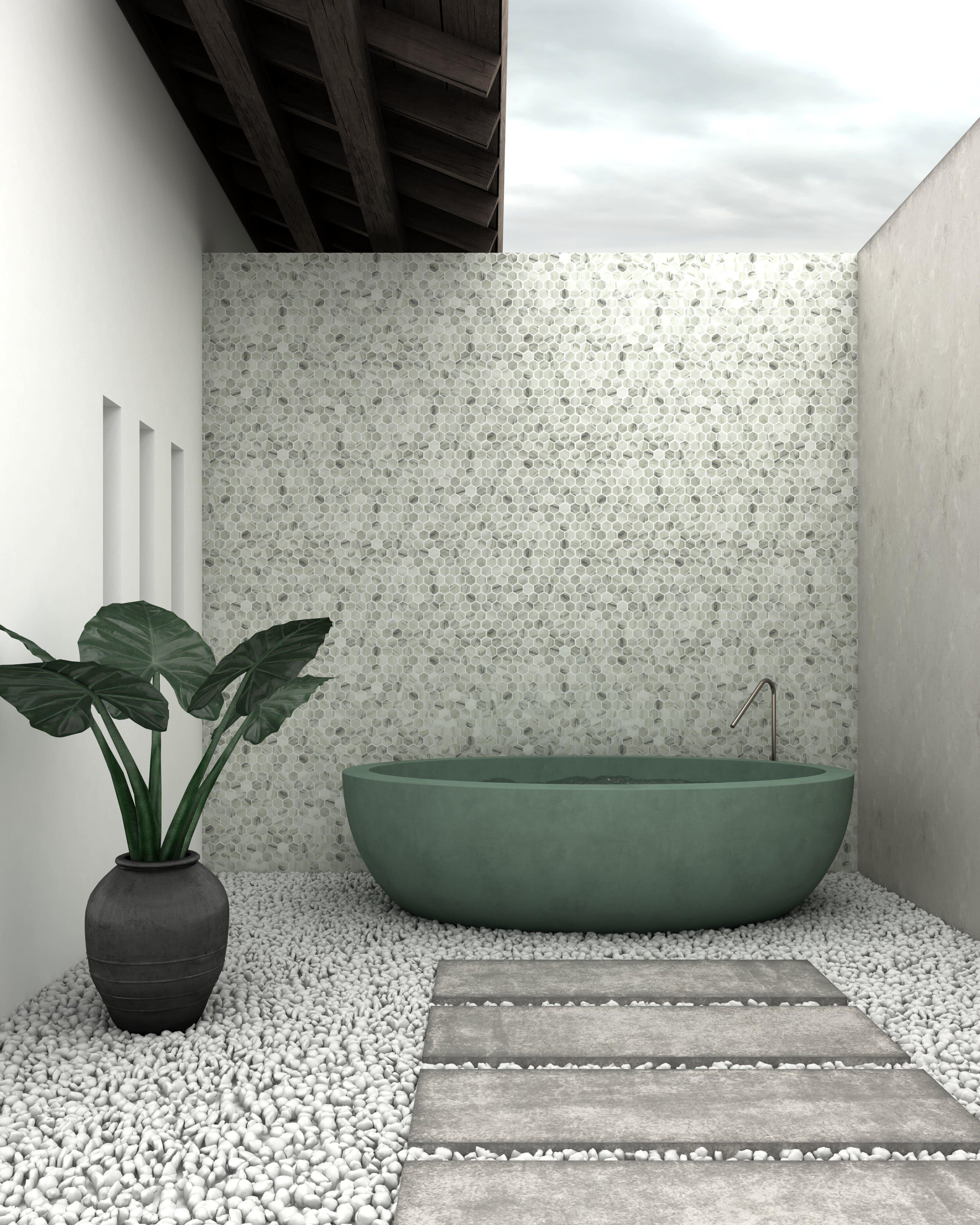 Viena Final 1 - Mosaicos Para Exterior: Lo Último Para Suelos Y Fachadas - Decoración