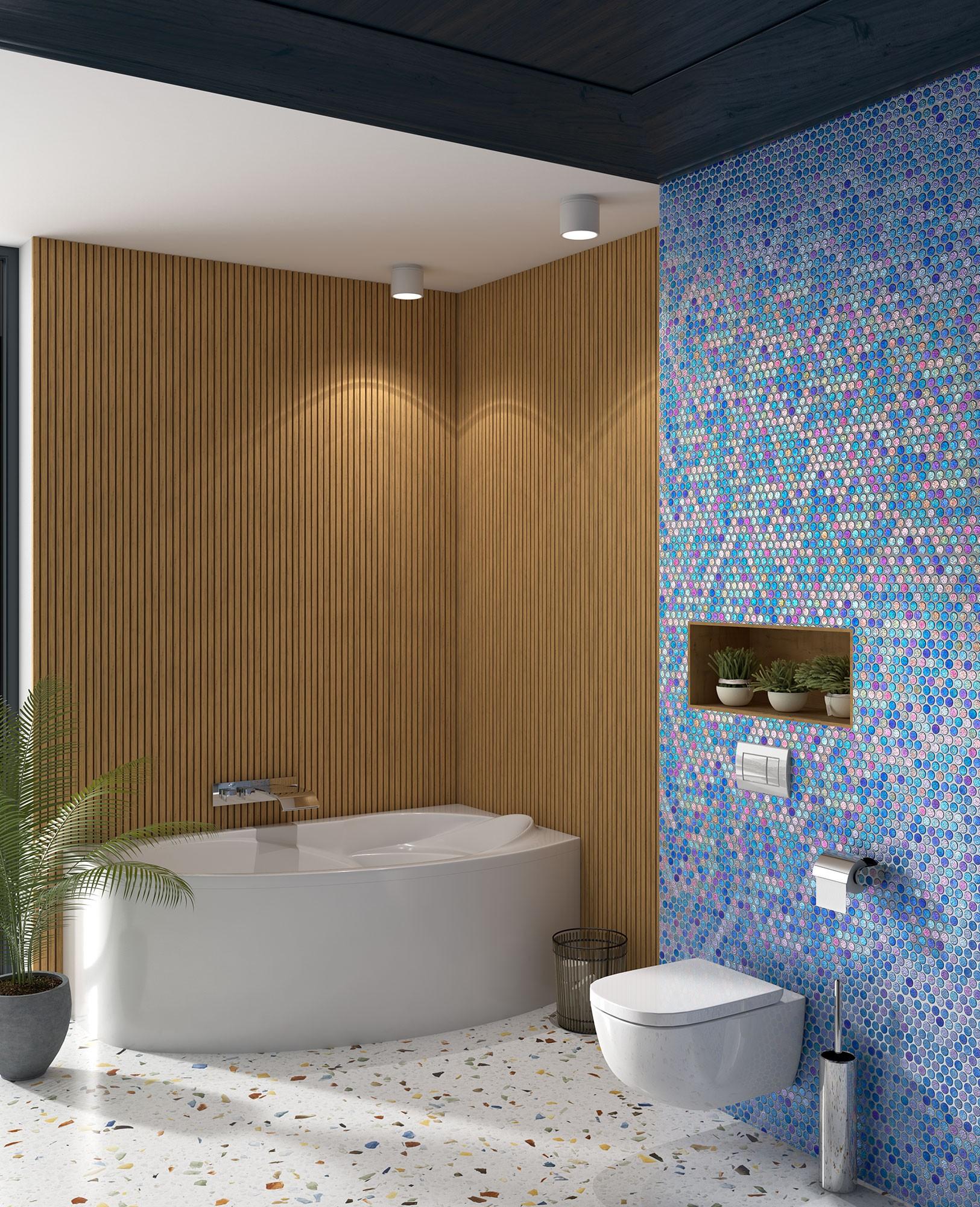555c Circle Final - Mosaico Interior: Tendencia En Decoración - Decoración