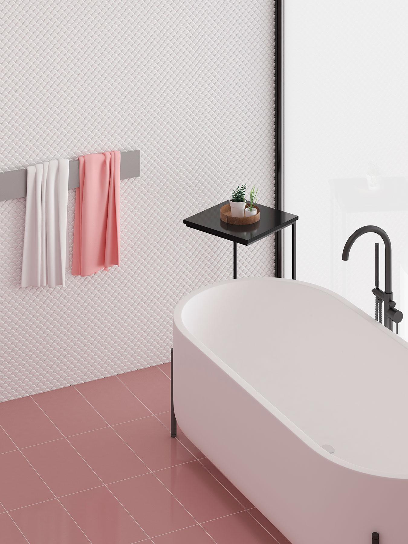 Dimension White Br - Mosaico Decorativo: Tendencia Para Baños Y Cocinas 2021 - Decoración