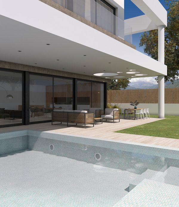 Fusion White Swimmingpool