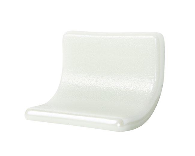 Step Concavo100 Liso Blanco