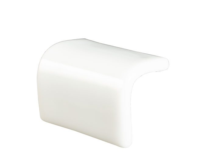 Step Convexo 100 Liso Blanco